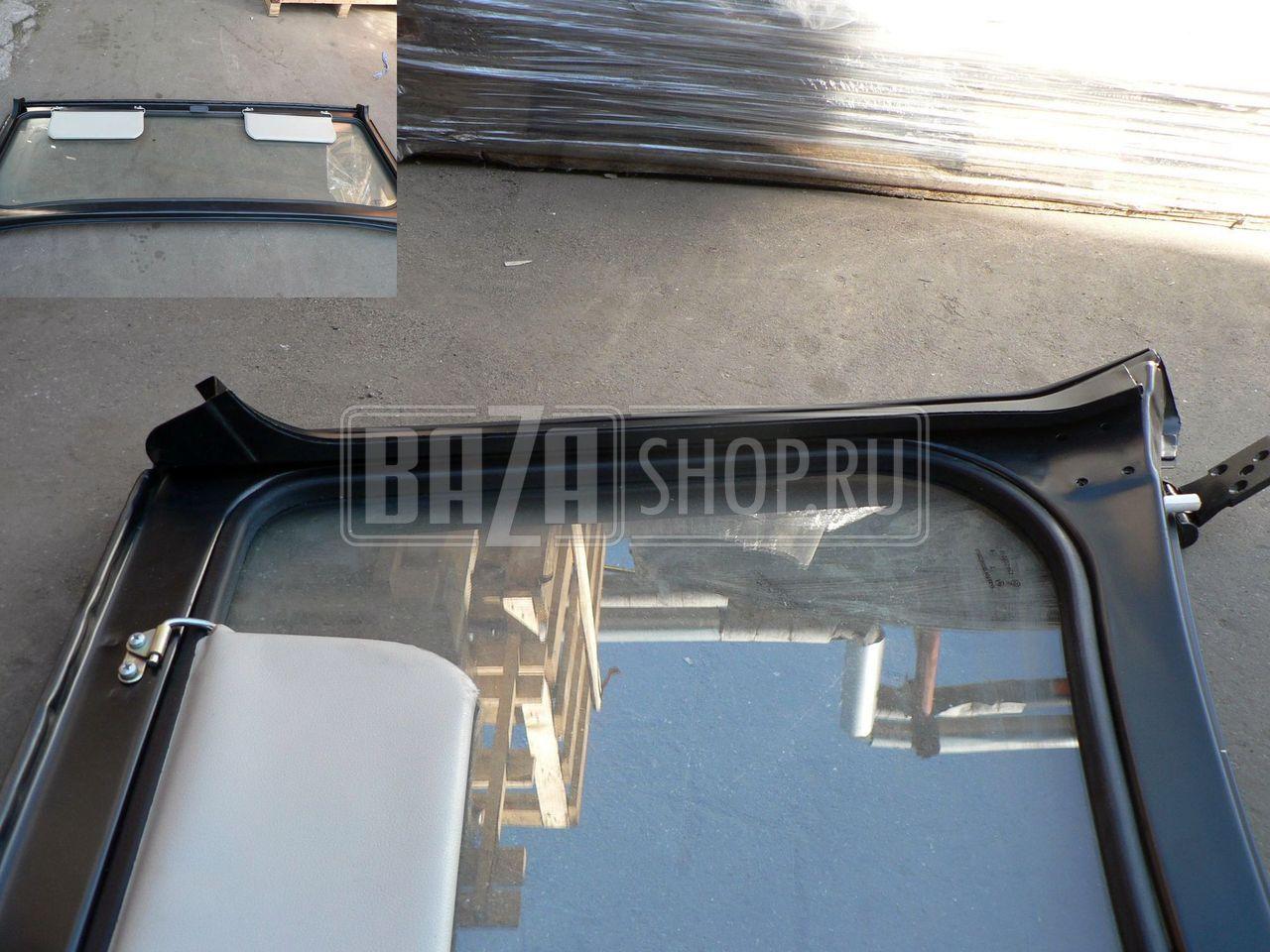 Установка лобового стекла уаз 469 своими руками